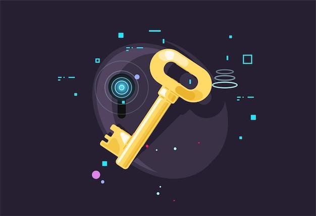 Ключ. защита данных. электронный доступ.
