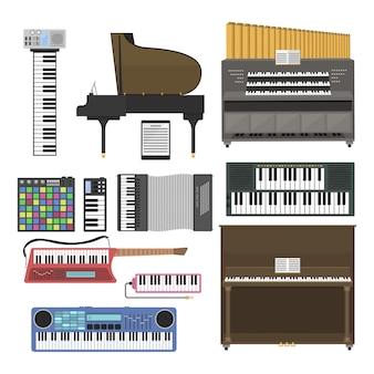 Keyboard musical instruments