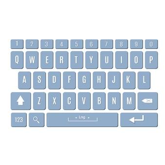 Keyboard of smartphonettons