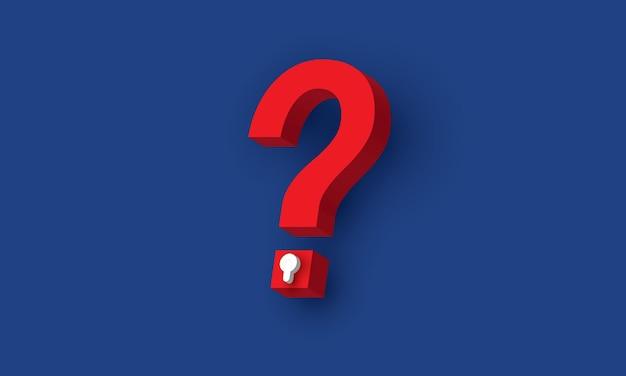Замочная скважина в знак вопроса бизнес-проблема концепция вдохновения бизнес