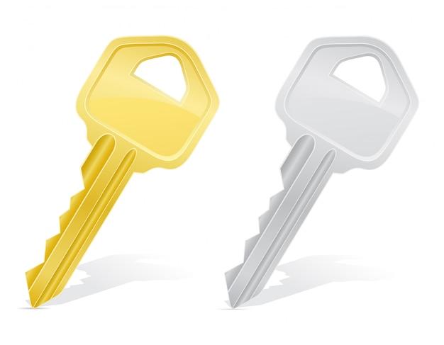 Keys door lock.