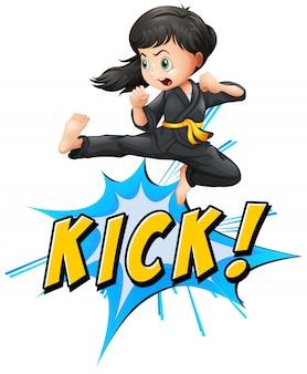 Kick логотип