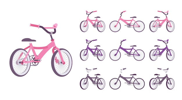 어린이용 자전거 세트