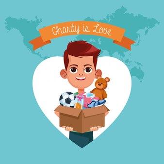 Детский благотворительный мультфильм