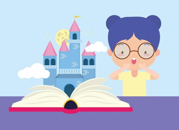 세계 도서의 날에 아이