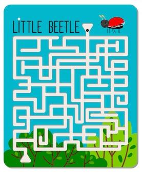 Kid maze game