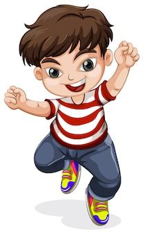 Kid running at you