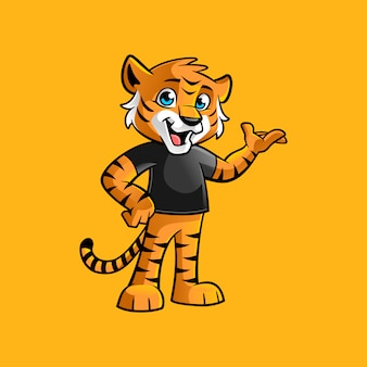 Kid tiger yes