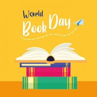 Kid in world book day