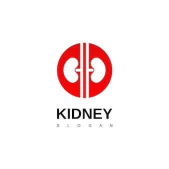 신장 로고, 비뇨기과 로고 디자인 영감