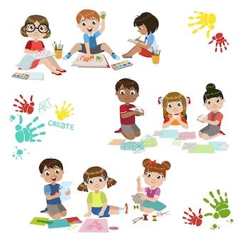 子供の創造性の練習