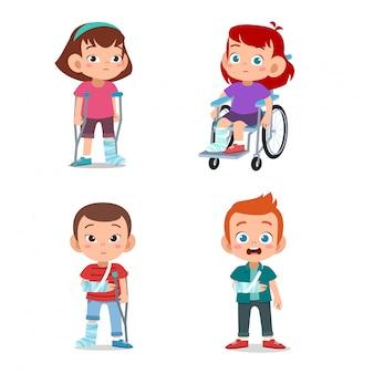 아이들이 장애인
