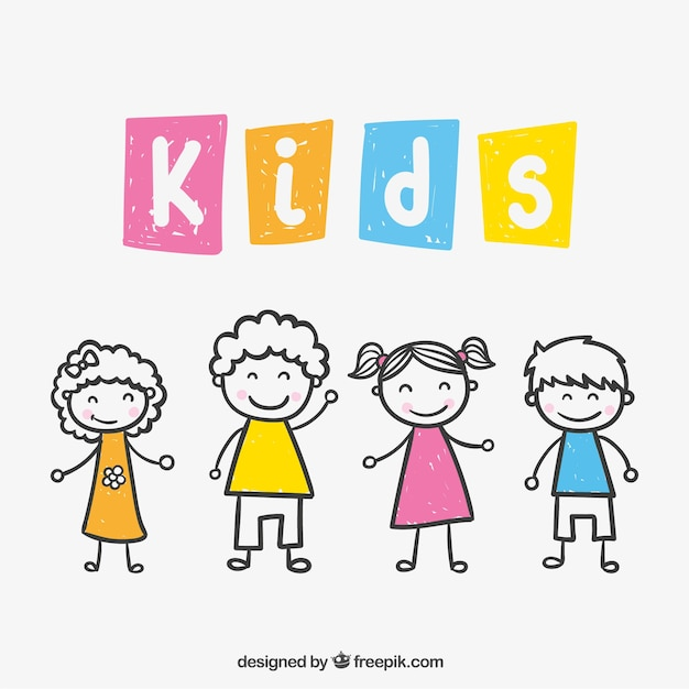 children vectors photos and psd files free download rh freepik com kids victoria bc kids vector free