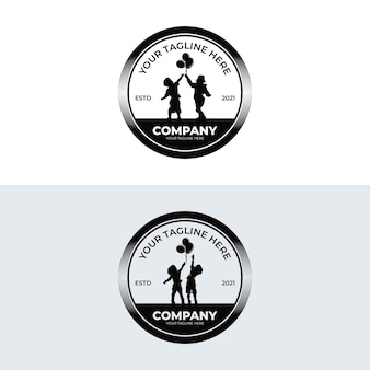 Вдохновение для дизайна логотипа kids dream