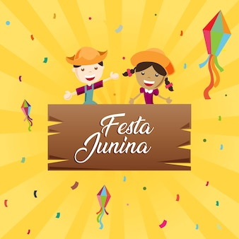 Kids festa junina