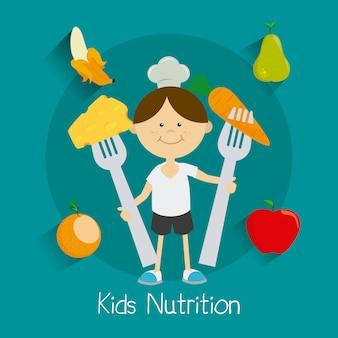 Kids food design.