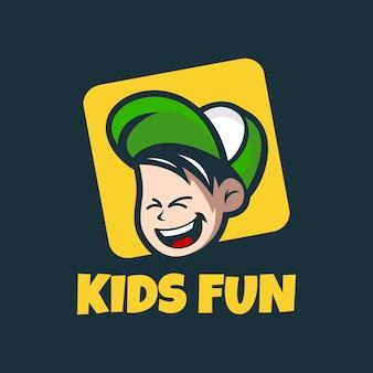 Логотип kids fun
