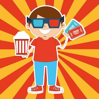 Kids moviegoers