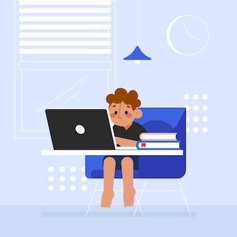 Концепция детских онлайн-уроков