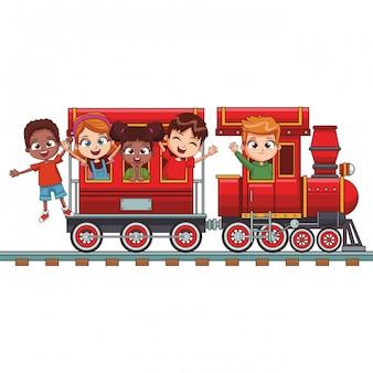 기차를 타고 아이
