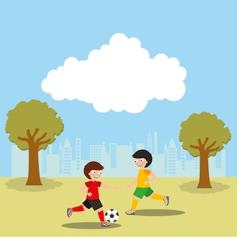 Kids sport activity image