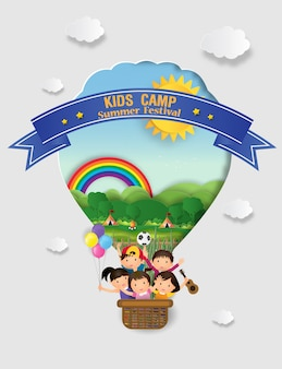 Kids summer camp education