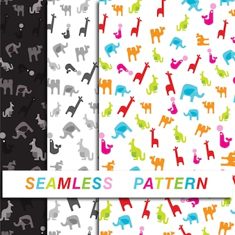 Kids toy seamless pattern