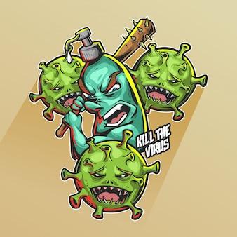 コロナウイルスを殺す