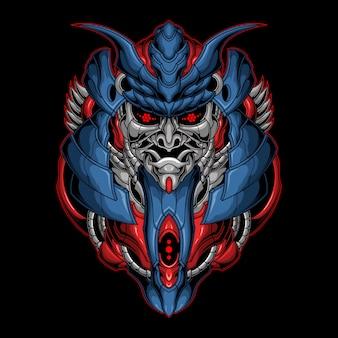 Killer samurai armor