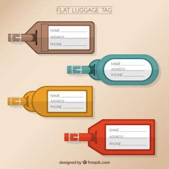 Kind of luggage tags