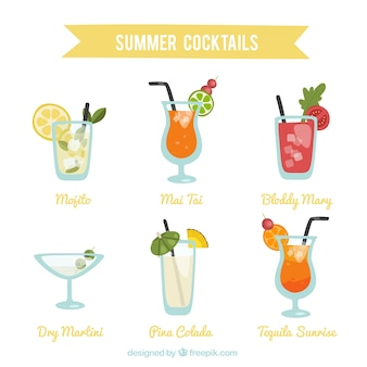 Kind of summer drinks