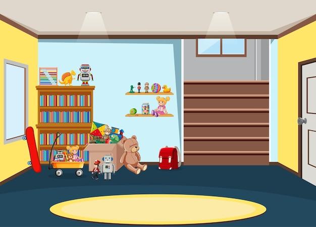 Дизайн интерьера комнаты детского сада