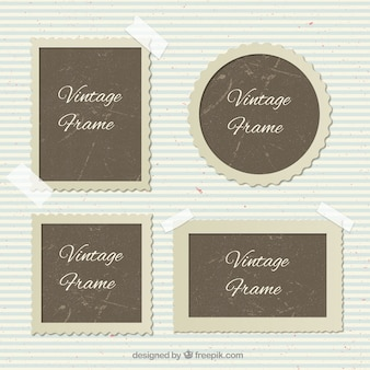 Kinds of vintage photo frames