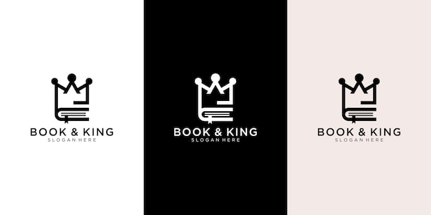 King & book logo