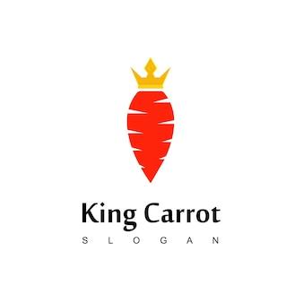 킹 당근 로고