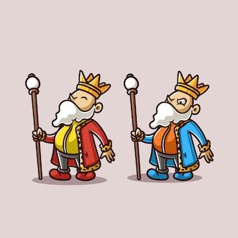 King character illustration
