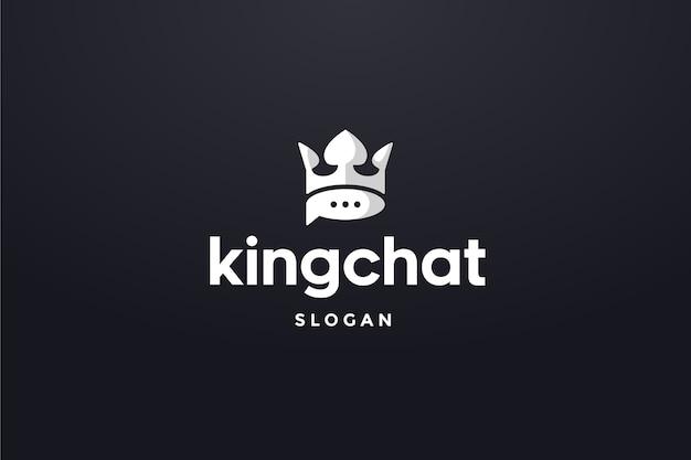 Логотип king chat