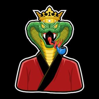 King cobra character.