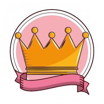 King crown cartoon