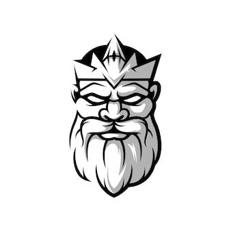 King design black and white