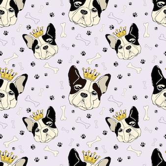 King dog pattern