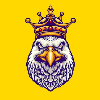 King eagle character