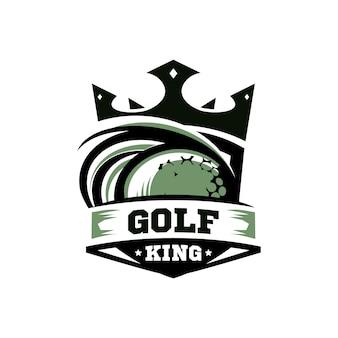 King golf logo