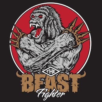 King kong gorilla the beast monster fighter