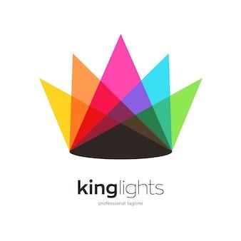 King lights logo design