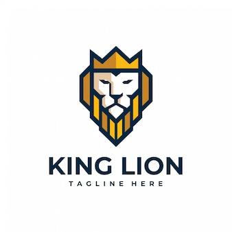 キングライオンのロゴ