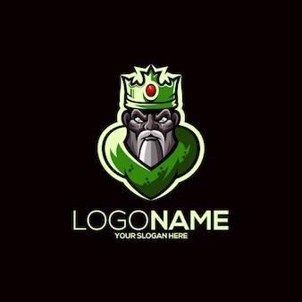 King mascot design