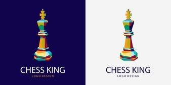 King of chess Logo