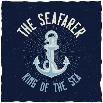 Король моря плакат