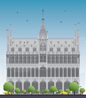 Королевский дом. брюссель, бельгия